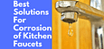 Corrosion of Kitchen faucets