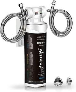 3 Frizzlife Under Sink Water Filter