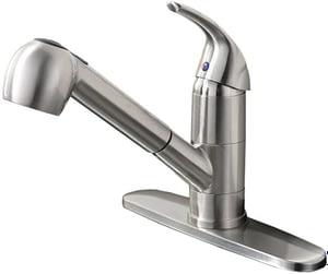 6. Ufaucet Modern Best Commercial Cen Brushed