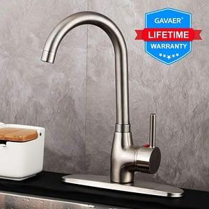 5. GAVAER Kitchen Sink Faucet Single