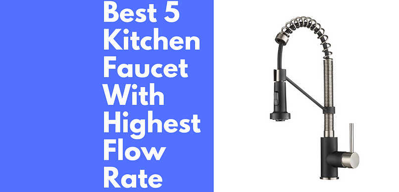 Kitchen Faucet With Highest Flow Rate